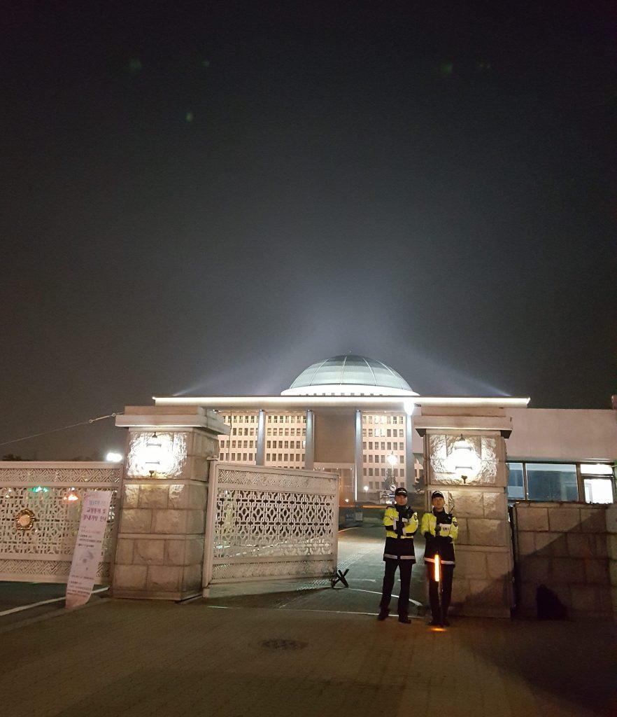 韓国の国会議事堂です。