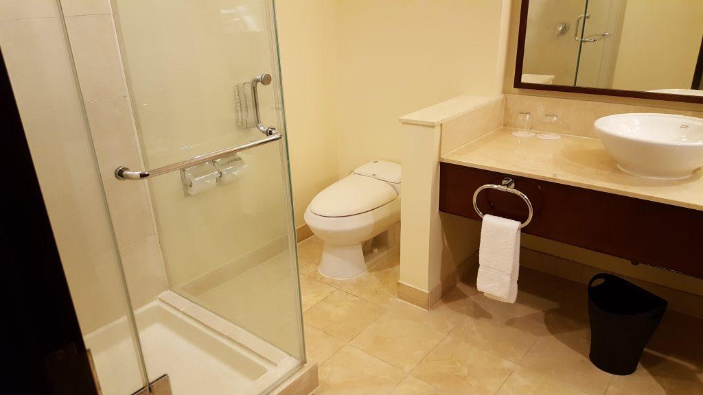 トイレとお風呂が広い! そしてシャワーは別ブースでもあり