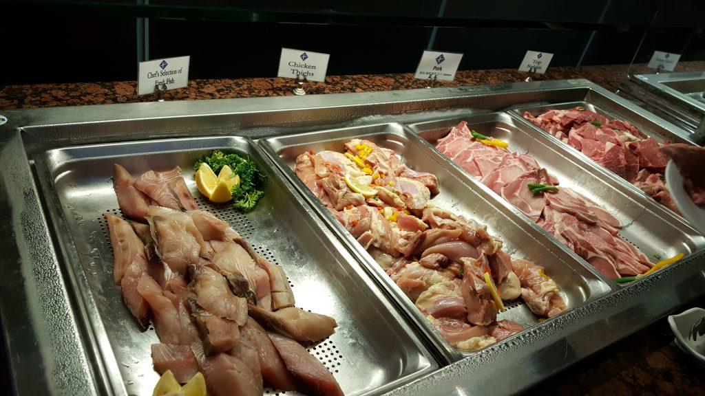 肉の種類もいくつか