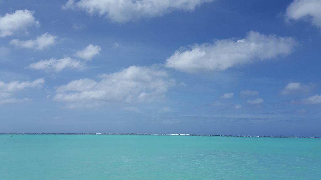 マジで海と空しかない・・・